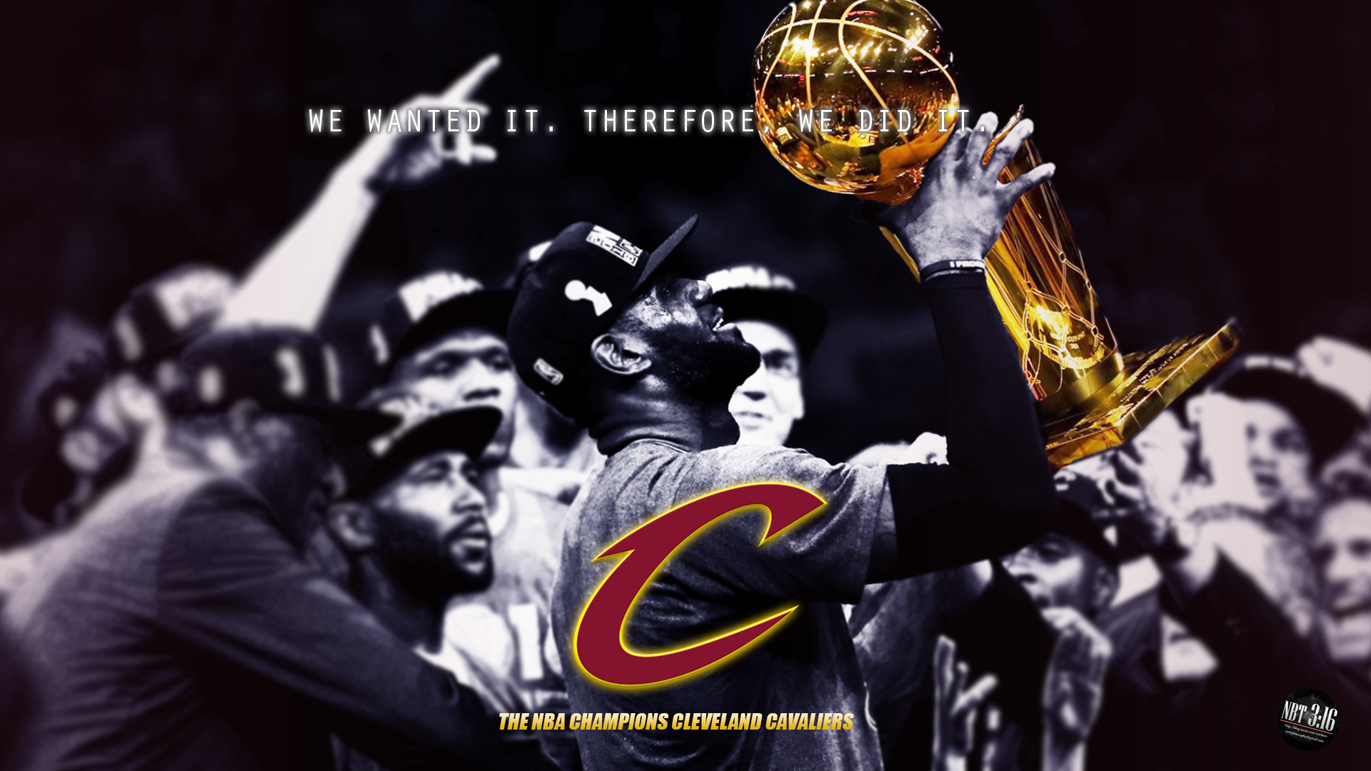 2016 nba champions cleveland cavaliers by takezer0 on