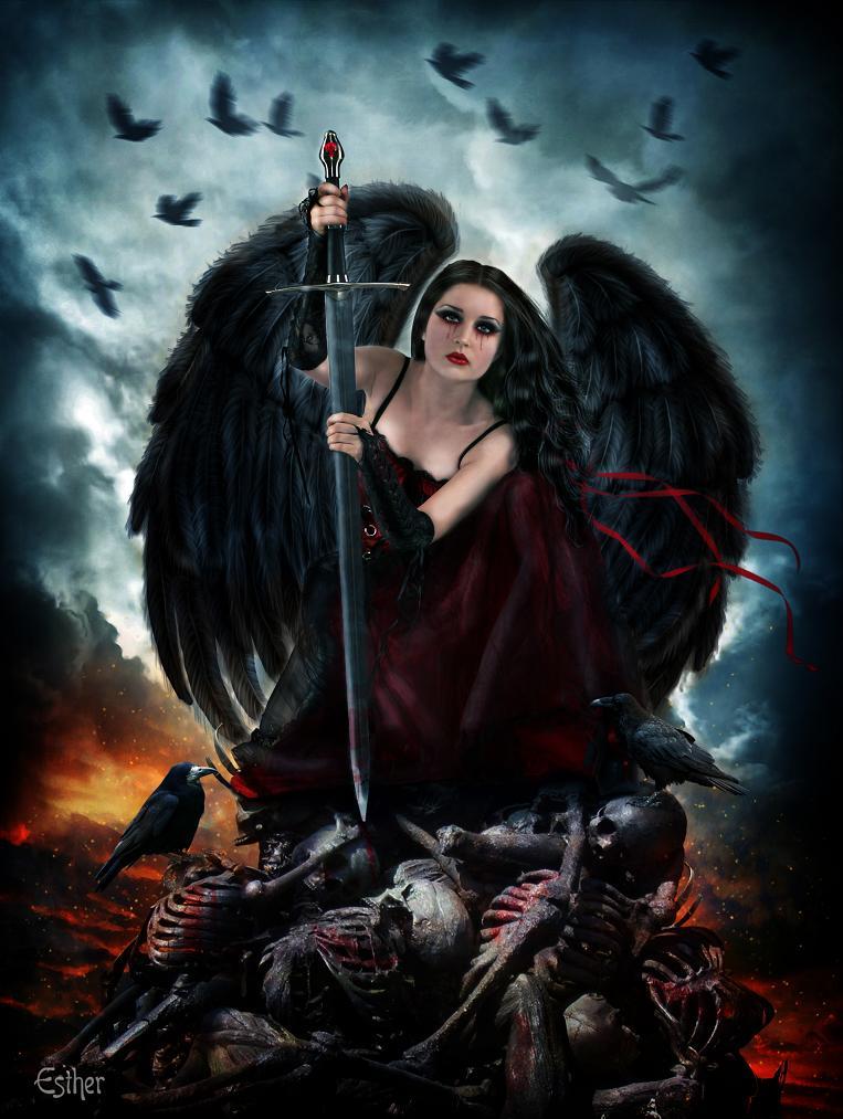 angel photoshop fantasy famale - photo #17