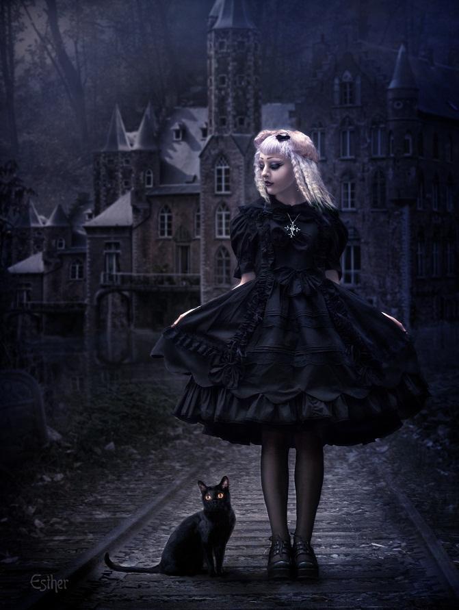 Night Walk by EstherPuche-Art