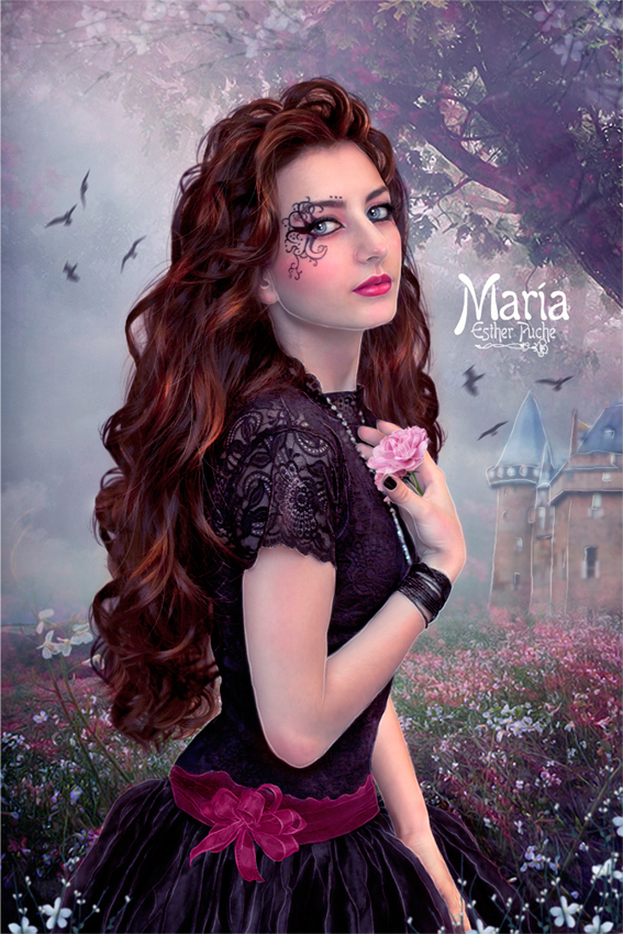 MARIA by EstherPuche-Art
