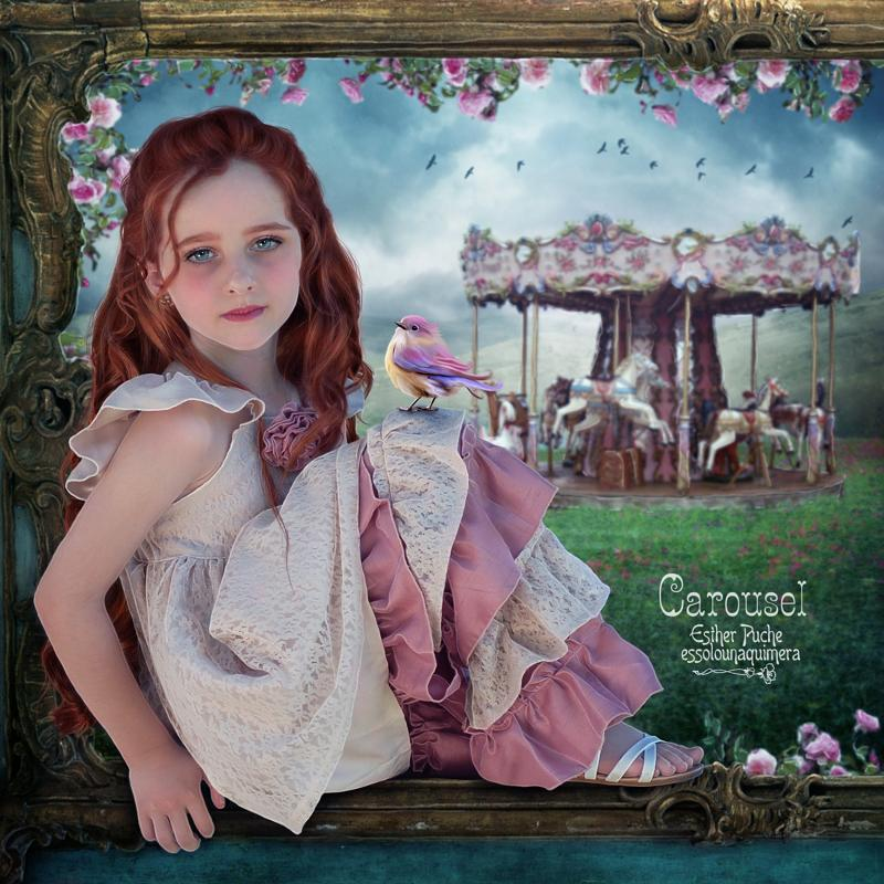 Carousel by EstherPuche-Art