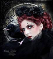 Lady Spider by EstherPuche-Art