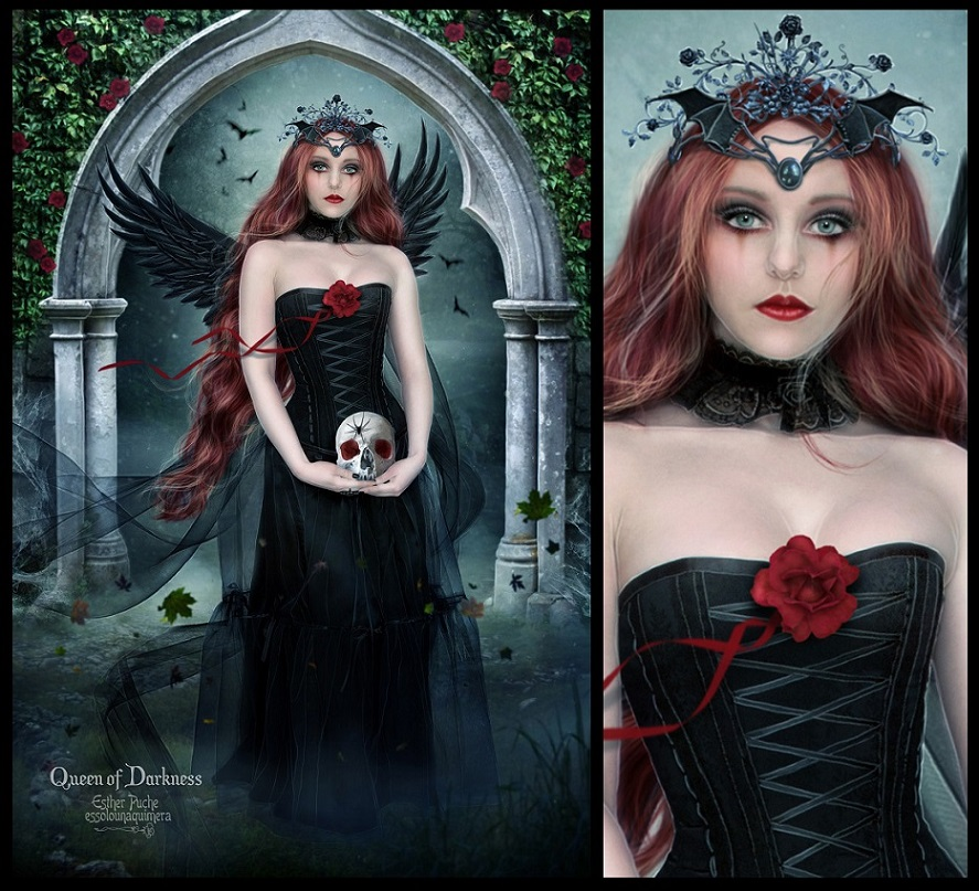 Queen of Darkness by EstherPuche-Art