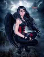 Crow by EstherPuche-Art