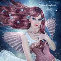 You are in my heart... by EstherPuche-Art