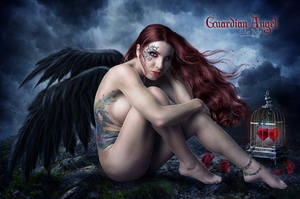 Guardian Angel by EstherPuche-Art