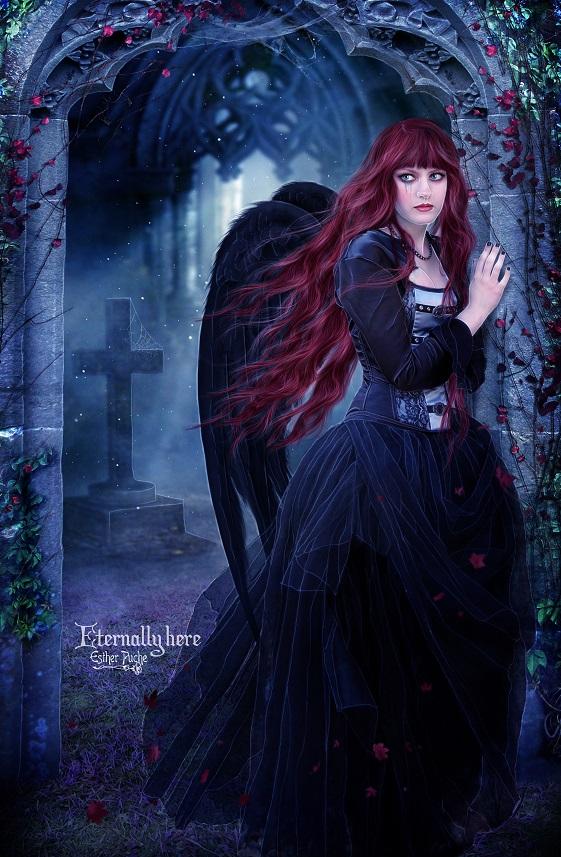 Eternally here by EstherPuche-Art