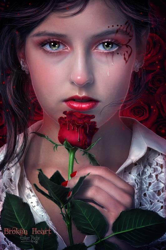 Broken Heart by EstherPuche-Art