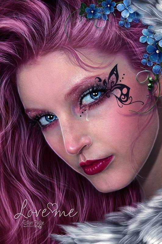 Love me by EstherPuche-Art