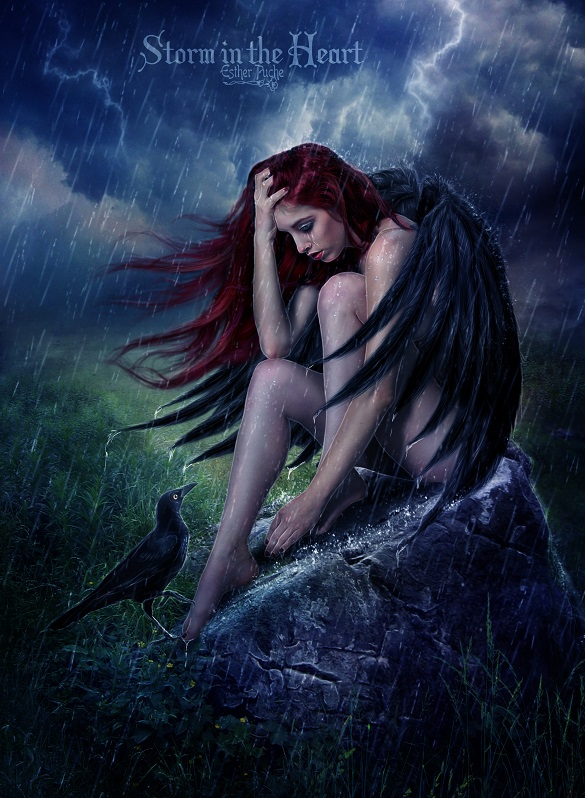 Storm in the Heart by EstherPuche-Art