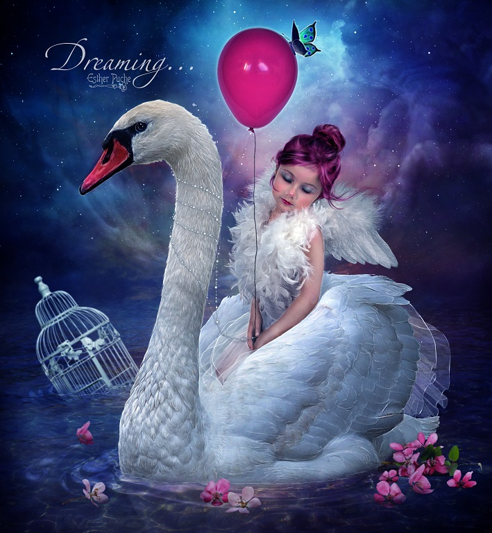 Dreaming... by EstherPuche-Art