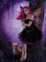 Purple Dreams by EstherPuche-Art