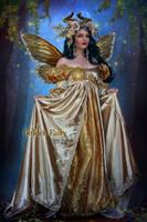 Golden Fairy by EstherPuche-Art