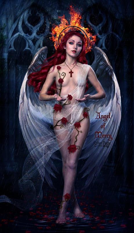 Angel of Mercy by EstherPuche-Art
