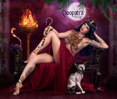 Cleopatra by EstherPuche-Art