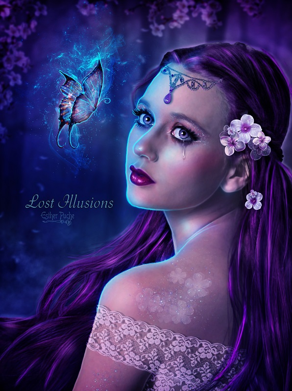 Lost Illusions by EstherPuche-Art
