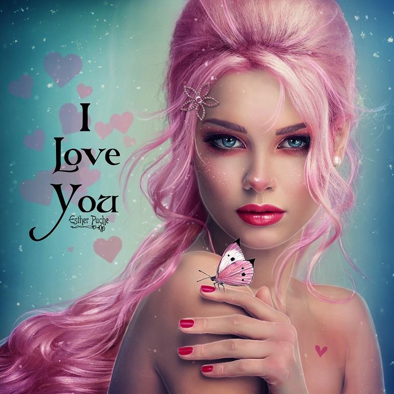 I love You by EstherPuche-Art