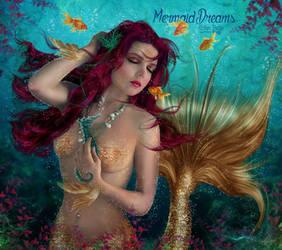 Mermaid Dreams by EstherPuche-Art