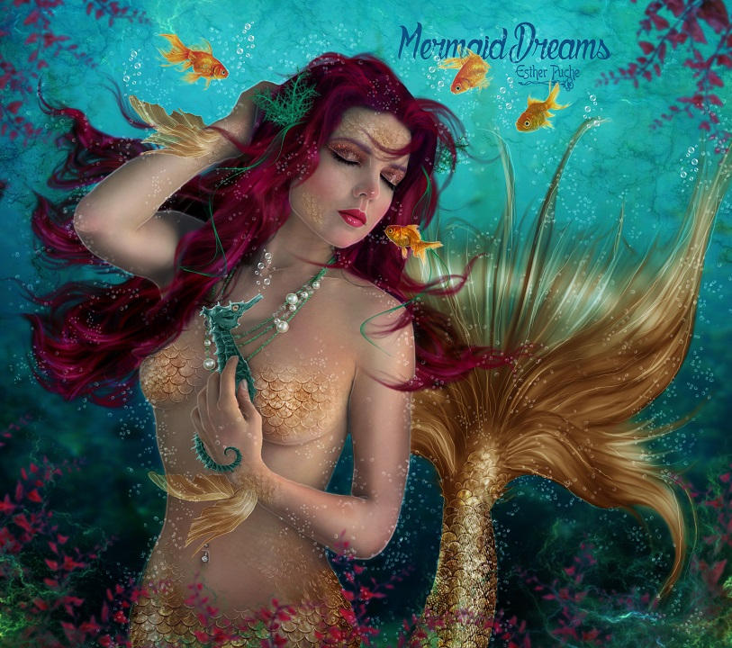 Mermaid Dreams by EstherPuche-Art