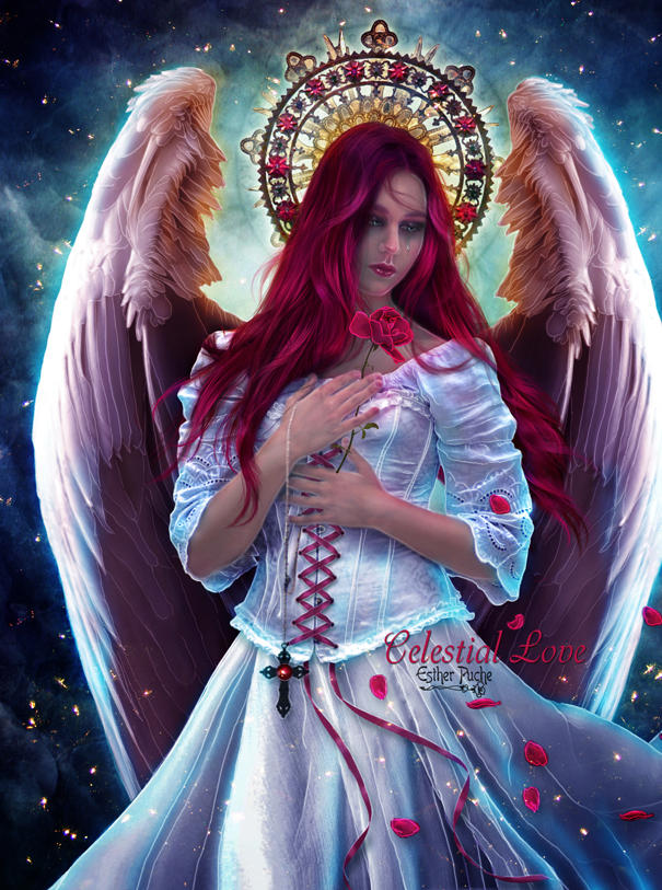 Celestial Love by EstherPuche-Art