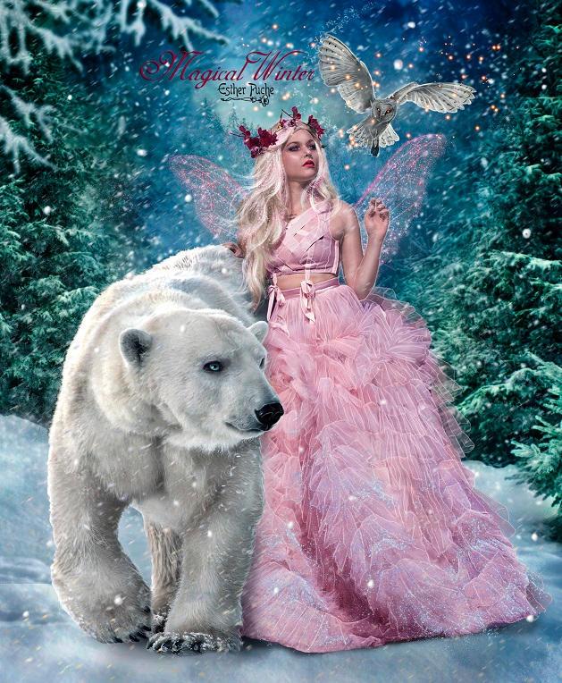 Magical Winter by EstherPuche-Art