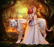 Huntresses by EstherPuche-Art