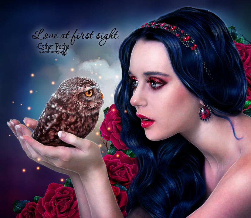 Love at first sight by EstherPuche-Art