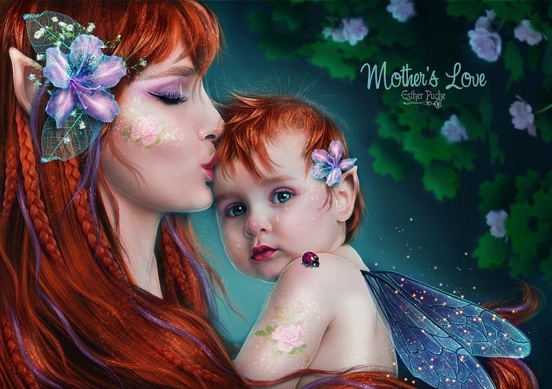 Mother's Love  by EstherPuche-Art