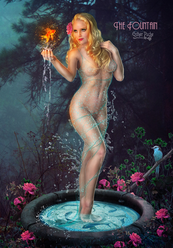 The Fountain by EstherPuche-Art