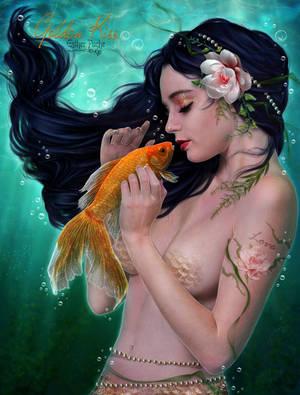 Golden Kiss by EstherPuche-Art
