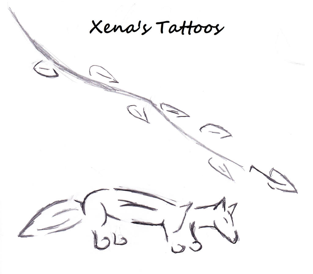Xena's Old Tattoos By 3wolfheart4 On DeviantArt