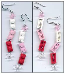 lego earrings by emilyjames43