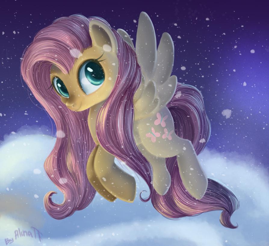 Fluttershy c: by AlinaTF