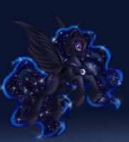 NightMare Moon by AilaTF