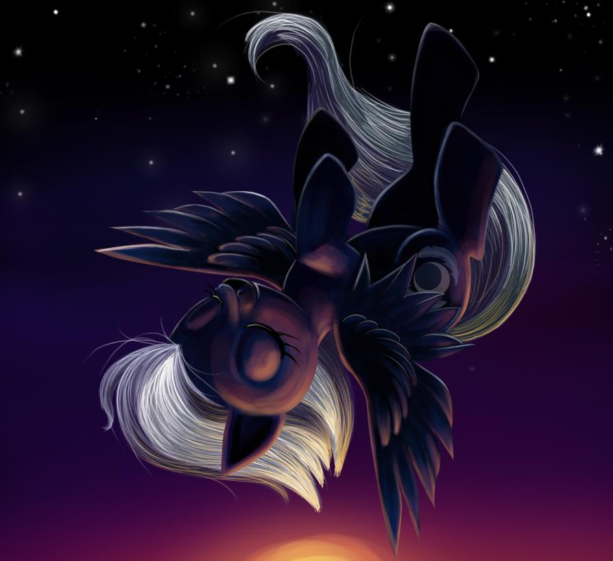 Night Glider by AlinaTF