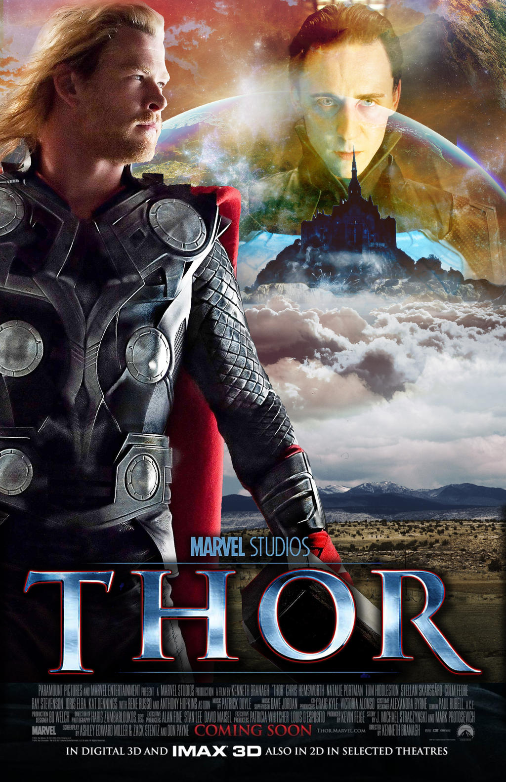 Thor Movie Poster by nicolehayley on DeviantArt