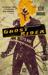 Ghost Rider Illustrated Movie Poster
