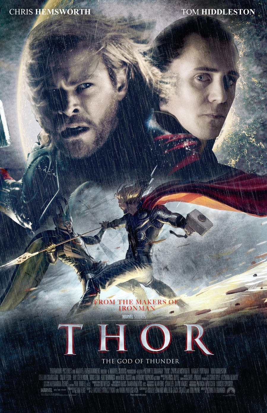 thor movie poster ii by nicolehayley on deviantart