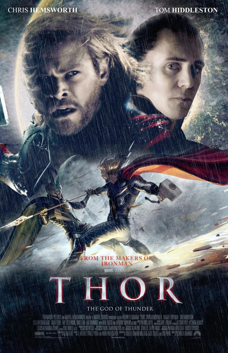 Amazoncom thor movie posters