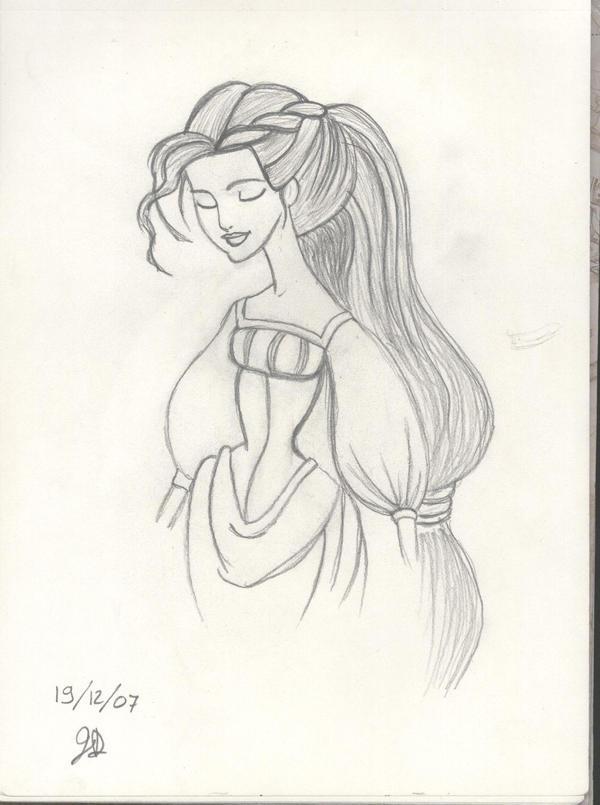 Rapunzel by lunapiena