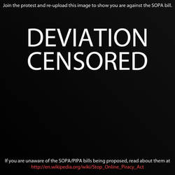 Stop SOPA and PIPA by I-SithLord