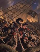 Pirates by JohnDotegowski