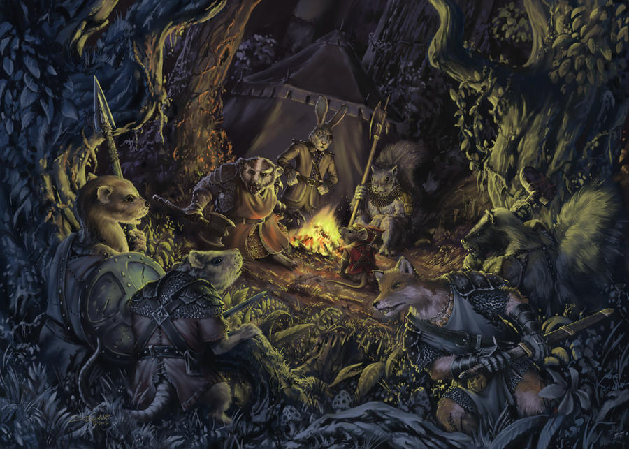 Druids Children by JohnDotegowski
