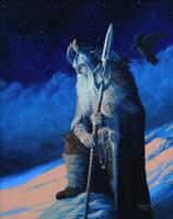 Odin Allfather by JohnDotegowski