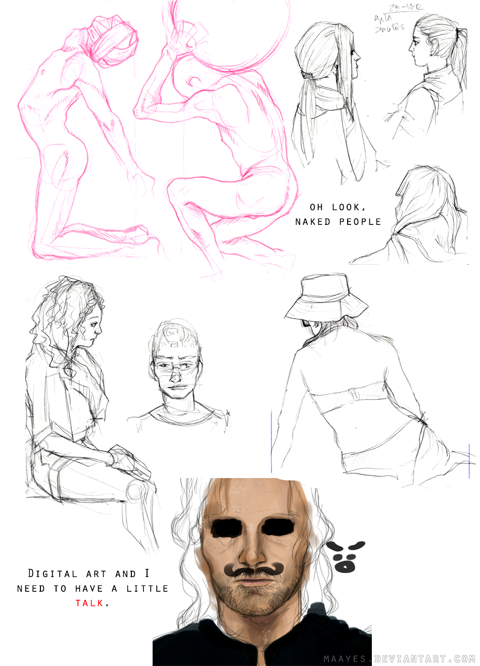 Sketchdump 2'' by maayes
