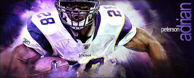Adrian Peterson - all day by Subliminal515 on DeviantArt