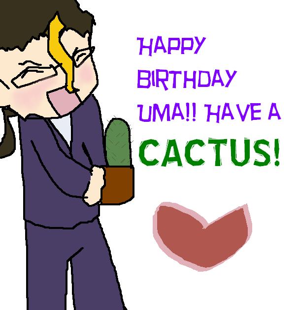 Happy Birthday Uma By Askdoji On Deviantart