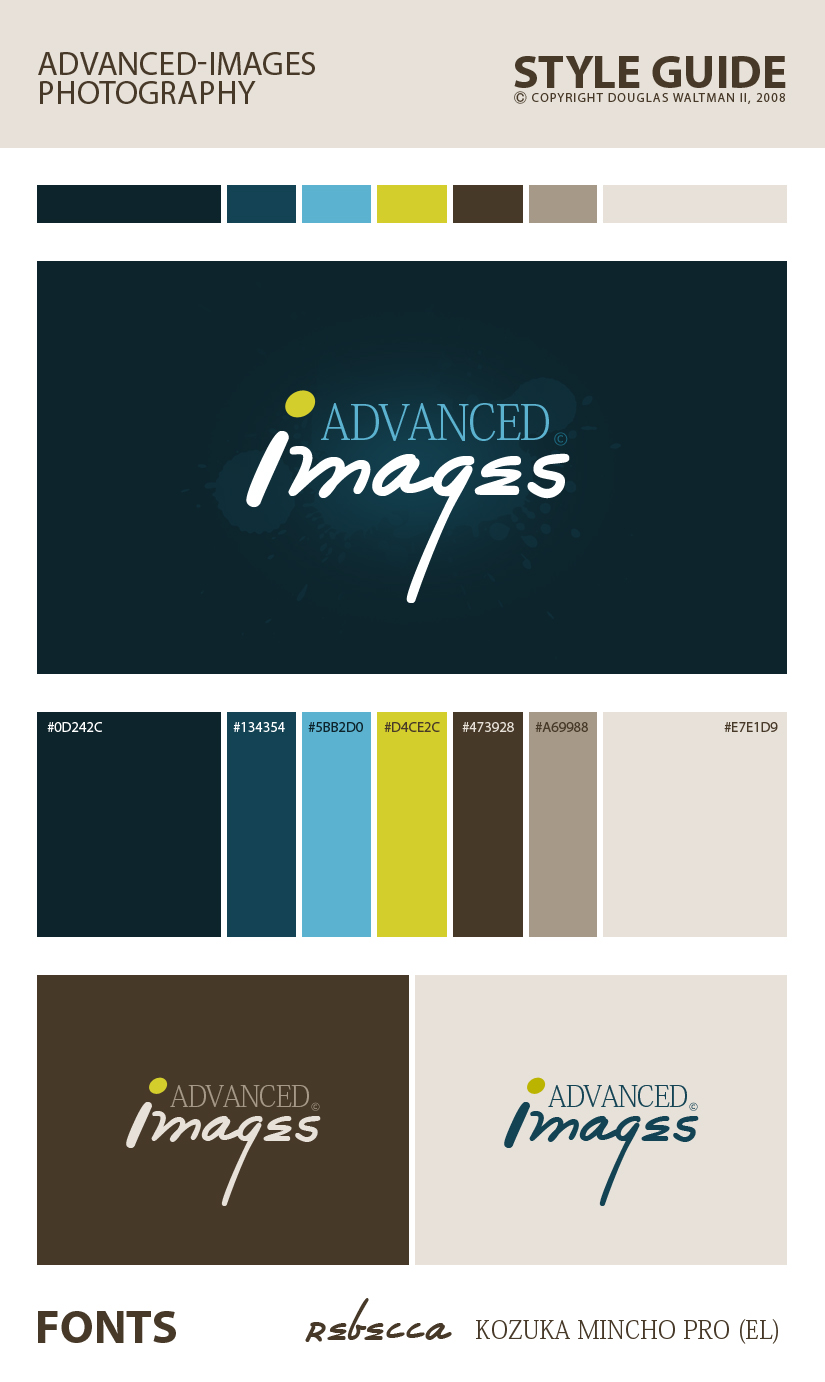 Advanced-Images Style Guide by sixfoothazel