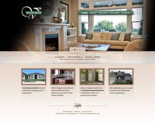Valiant Homes Website by sixfoothazel