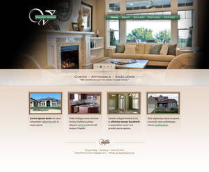 Valiant Homes Website